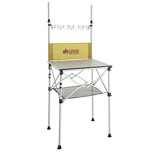 ロゴス キッチンテーブル smart LOGOS kitchen クックテーブル(風防付き) 73186510