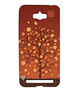 Vogueshell Tree Printed Symmetry PRO Series Hard Back Case for Asus Zenfone Max