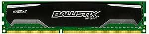 Crucial BLS8G3D1609DS1S00 Ballistix Sport Arbeitsspeicher 8GB (1600MHz, 240-polig, CL9) DDR3-RAM
