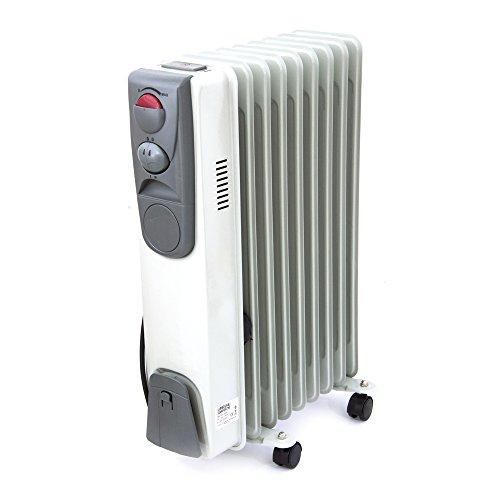 Radiatore termosifone elettrico 9 elementi 2000W riscaldamento casa TMX180-2000