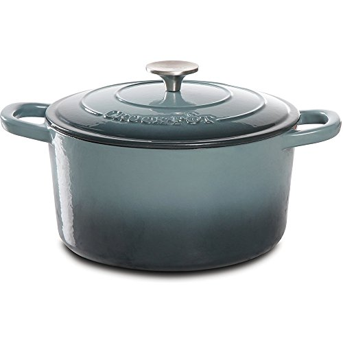 Crock-Pot Artisan Cast Iron Dutch Oven, 5 quart, Slate Gray (Small Dutch Oven Pot compare prices)