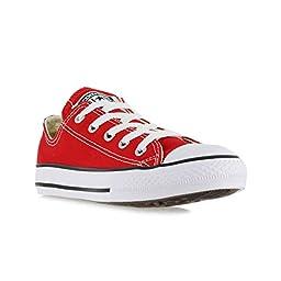 Converse Boys\' Youths Chuck Taylor All Star Ox Red - 1.5 YTH