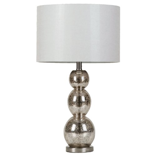 Coaster Home Furnishings 901185 Table Lamp, Metallic Finish
