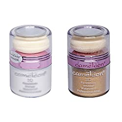 Cameleon 3D Face & Body Bronzer Combo Pack in Silver & Gold - 10g each