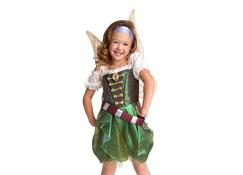 Disney Store Zarina The Pirate Fairy Costume/Wings Tinkerbell Size Medium 7/8