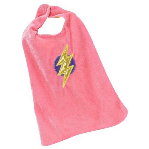 "18"" Doll Pink & Yellow Reversible Super Girl Cape"