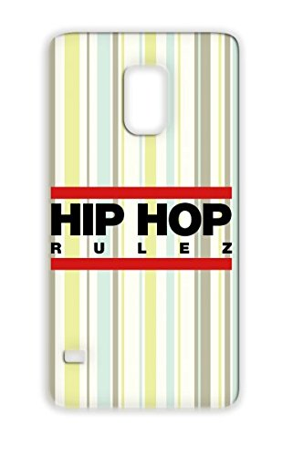 Tpu Red Hiphop Rulez F2 Mc Real Bling Beat Hip Hop Scratching Freestyle Dj Music Headphones Rap Bold Breakdance Graffiti Vinyl Record Old School Regulate Mic Music Battle Note Talent Cover Case For Sumsang Galaxy S5