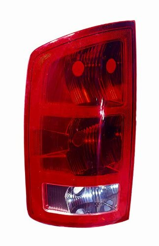Depo 334-1906L-UC Dodge Driver Side Replacement Taillight Unit (04 Dodge 1500 Radiator compare prices)