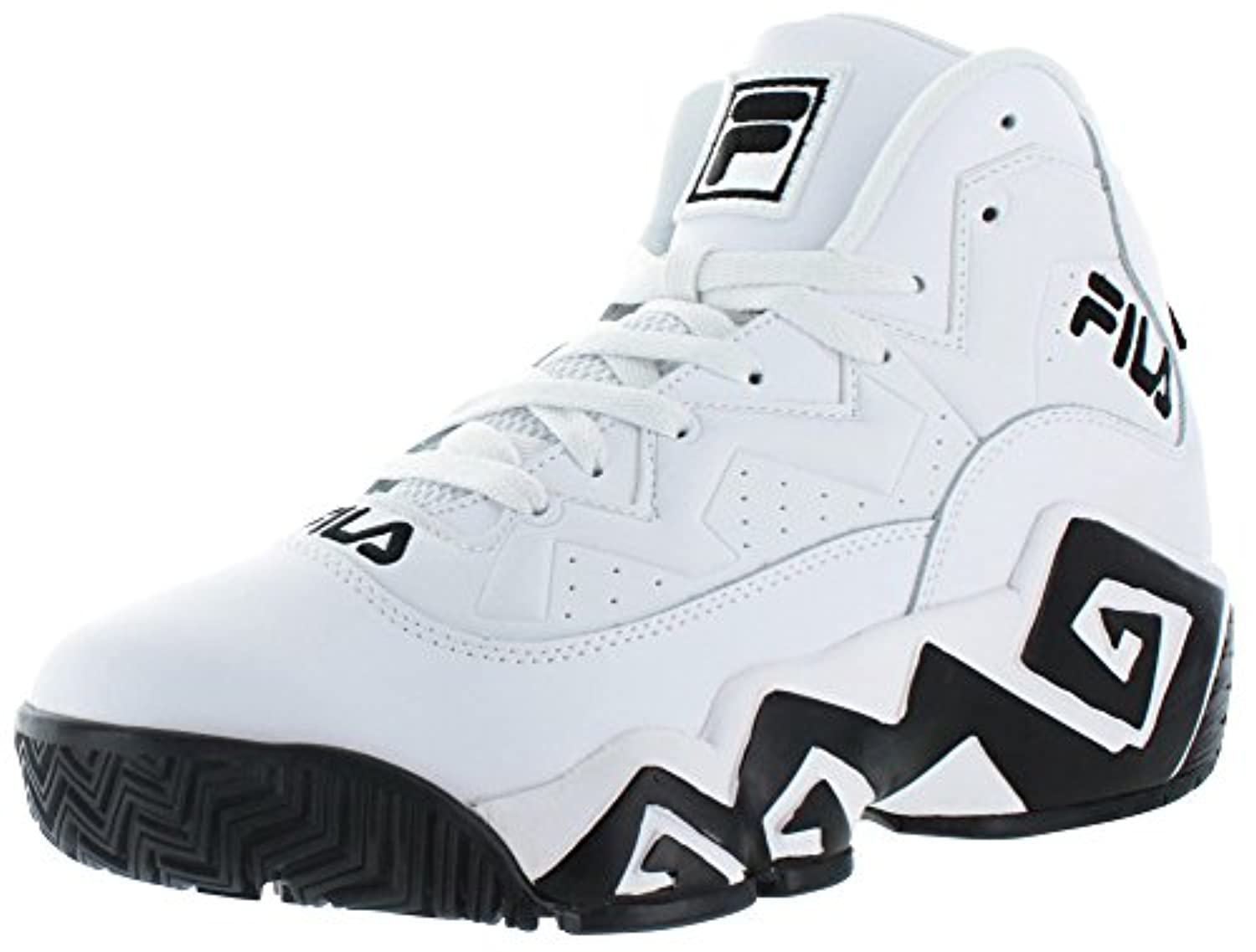 Fila MB Jamal Mashburn Retro Men's Basketball Shoes White ...