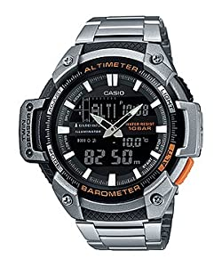 Casio Outdoor Analog-Digital Black Dial Men's Watch - SGW-450HD-1BDR
