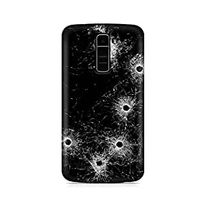 Mobicture Glass Premium Printed Case For LG K10