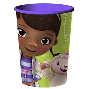 Doc McStuffins Reusable Keepsake Cup 16 Ounce 2-pack