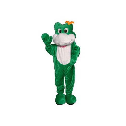 Frog Mascot Adult Costume Size Standard
