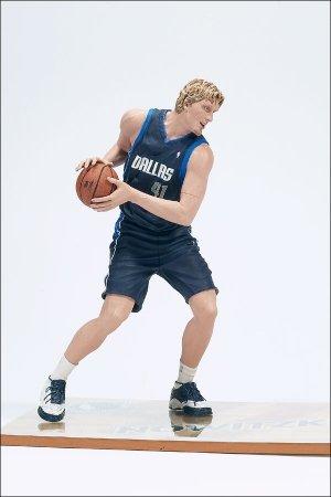 McFarlane Toys NBA Sports Picks Series 2 Action Figure Dirk Nowitzki (Dallas Mavericks) Black Jersey