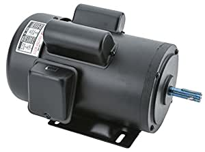 Grizzly h5386 110v 220v 2 hp single phase motor electric for 5 hp 110v electric motor