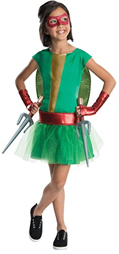 Rubies Teenage Mutant Ninja Turtles Deluxe Raphael Tutu Dress Costume, Child Small (Girls Ninja Turtle Costume compare prices)