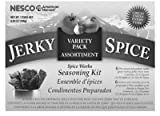 Metalware/Nesco BJV-6 Beef Jerky Spices, Variety Pack of 6