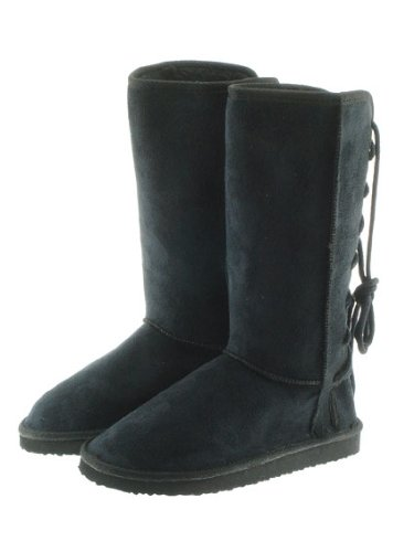Couture Discount Damenstiefel Fell Boots, schwarz (WST2), Gr. 36