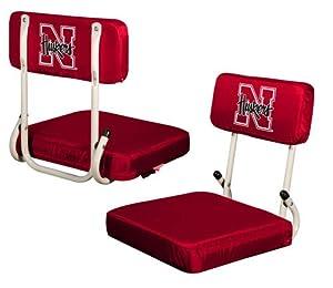 Nebraska Cornhuskers Hardback Stadium Seat by Logo