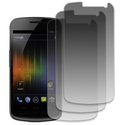 MPERO Samsung Galaxy Nexus I9250 3 Pack of Clear Screen Protectors [MPERO Packaging]