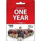 Verizon $100 ToGo Prepaid Refill Card (mail delivery)