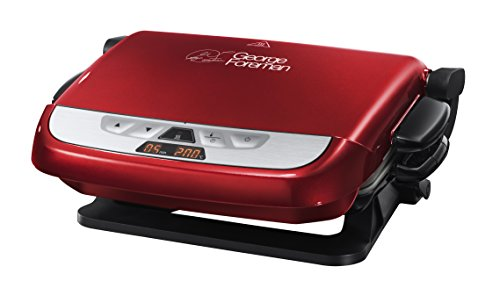 george-foreman-evolve-family-5-portion-grill-with-omelette-plates-red