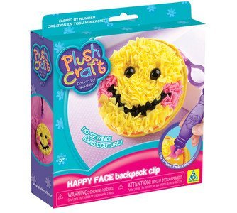 The Orb Factory Happy Face Backpack Clip - 1