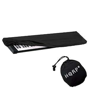 hqrp elastic keyboard dust cover for yamaha cp5 cp4 dgx 520 p 100 p 120 dgx 505 dgx. Black Bedroom Furniture Sets. Home Design Ideas
