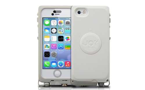 The Joy Factory aXtion Pro for iPhone 5 / 5S 防水 堅牢 ケース ( IP68 / MIL-STD-810G / グレー  ホワイト ) CWD112