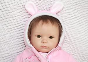 "Realistic and Lifelike Reborn Baby Dolls 45cm / 18""newborn Handmade Lifelike Dolls"
