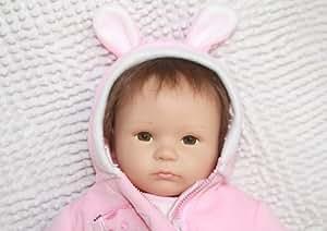 "Realistic and Lifelike Reborn Baby Dolls 45cm / 18""newborn Handmade Lifelike Dolls"