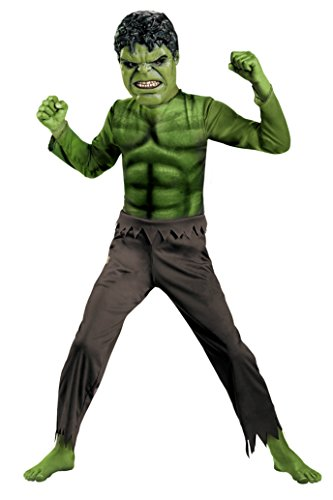 Boys Hulk Avengers Basic Kids Child Fancy Dress Party Halloween Costume