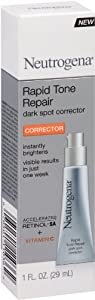 Neutrogena Rapid Tone Repair Moisturizer Dark Spot Corrector Serum, 1 Fluid Ounce
