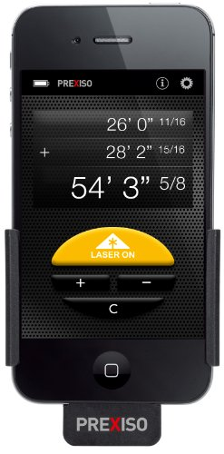 レーザー距離計 Prexiso iC4 Laser Distance Meter for iPhone 4 / iPhone 4S