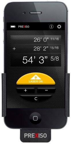 レーザー距離計 Prexiso iC4 Laser Distance Meter for iPhone 4 / iPhone 4S
