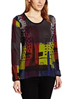 SIDECAR Camiseta Manga Larga Sheyla (Multicolor)