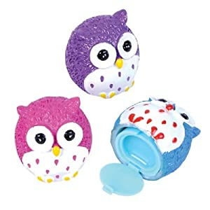 Owl Lip Gloss (Bulk Pack of 12 Pieces)