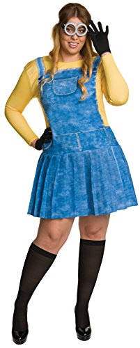 Rubie's Women's Plus Size Despicable Me Minion Costume