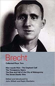 SEVEN PLAYS by BERTOLT BRECHT~Eric Bentley ed.HC DJ 8th printing EX