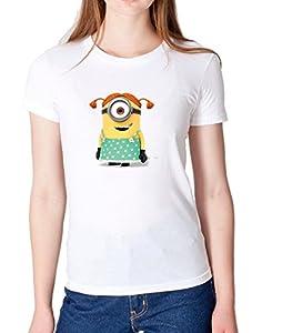 Stuart girl minion Despicable Me 2-Woman High Quality Top T Shirt