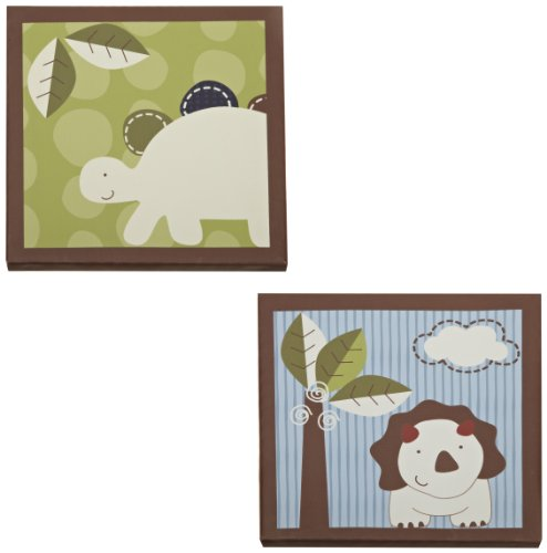 CoCo & Company Chomp N Stomp 2 Piece Wall Art (Discontinued by Manufacturer)