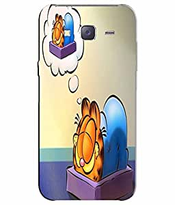 Make My Print Printed Back Cover For Samsung Galaxy J7