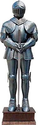 Medieval Blued Full Suit of Armor