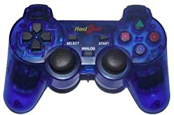 Red Gaer-Rechargeable Wireless Controller RG 3 In 1 PC/PS2/P
