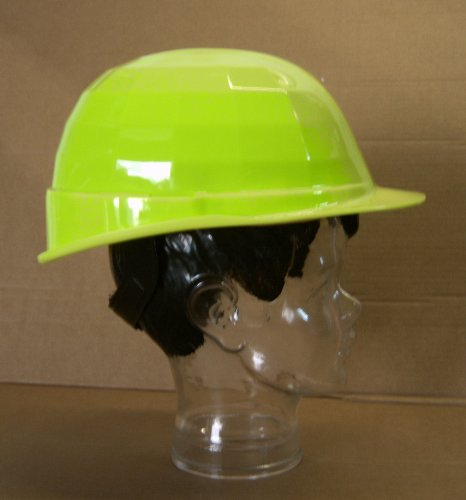 gelber-Bauhelm-Elektriker-Schutzhelm-leuchtgelb-EN340-elektr-Isolierung-bis-1000-Volt-AC-Kltebestndig-bis-30C-neongelb
