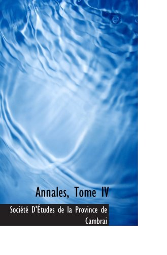 Annales, tomo IV
