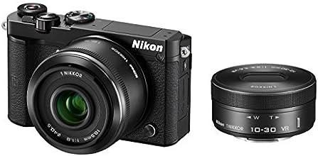Nikon ミラーレス一眼 Nikon1 J5 ダブルレンズキット ブラック J5WLKBK