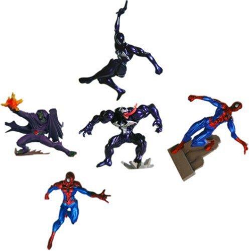: Marvel Ultimate Spider-Man Vignette: Action Figures Set of 5
