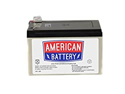 RBC4 UPS Replacement Battery  for APC By American Battery