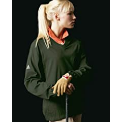 Adidas Golf Climaproof V-Neck Windshirt With Tipping by adidas